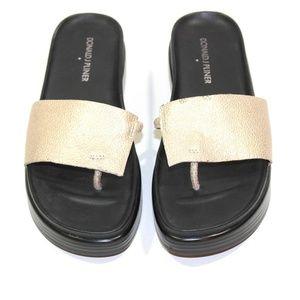 Donald J Pliner Fifi Platform Sandals Leather